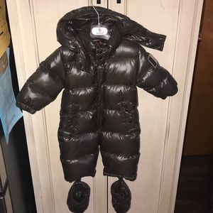 MONCLER Pervance Quilted Down Snowsuit